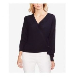 NWT Vince Camuto Ribbed Wrap Sweater